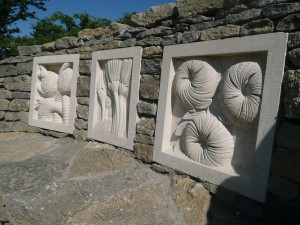 Fossil panels.